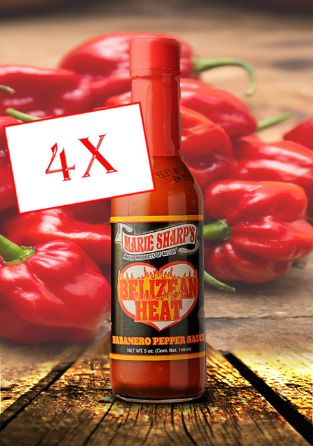 Belizean Heat hot sauce Marie Sharp's