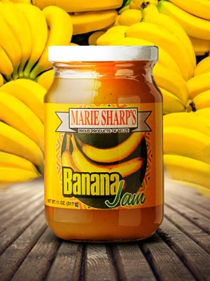 Marie Sharp's banana jam