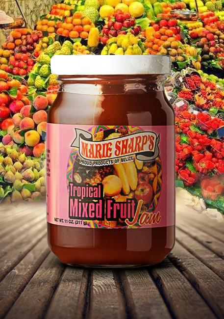 Marie Sharp's tropical mixed fruit jam