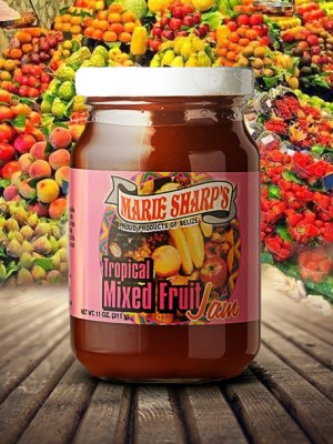 Marie Sharp's tropical mixed fruit jam