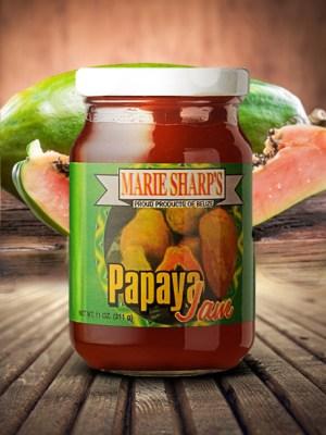 Marie Sharp's papaya jam