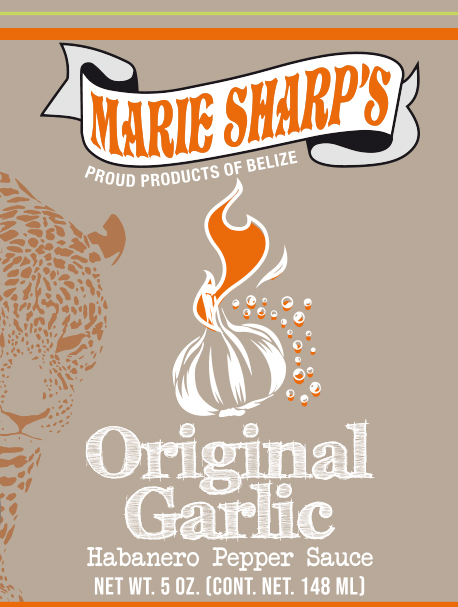 Marie Sharp's Original Garlic hot sauce