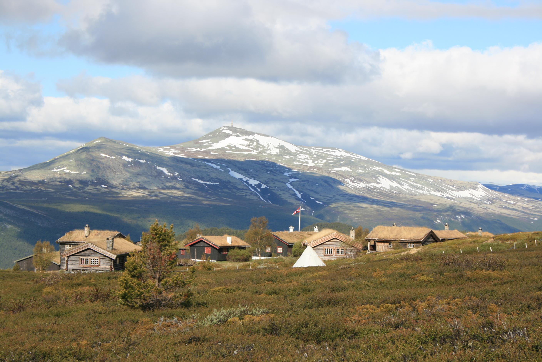 Bjørnhollia med utsikt mot Gudbrandsdalen
