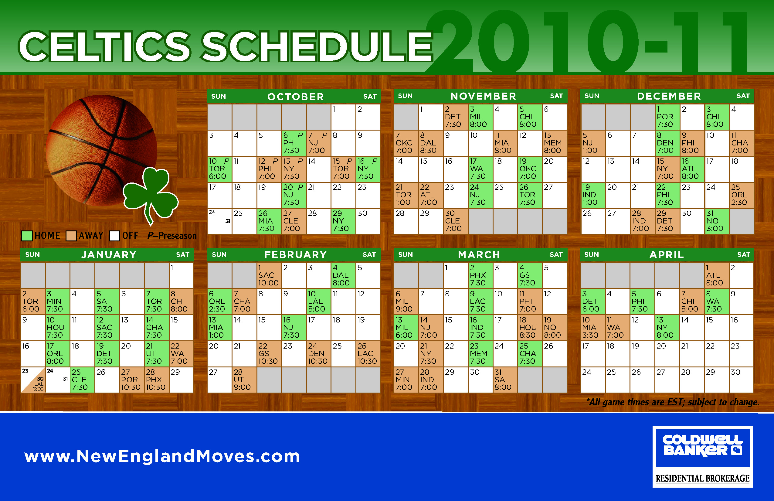 image relating to Celtics Schedule Printable called Printable Celtics Routine - Calendar year of Fresh H2o