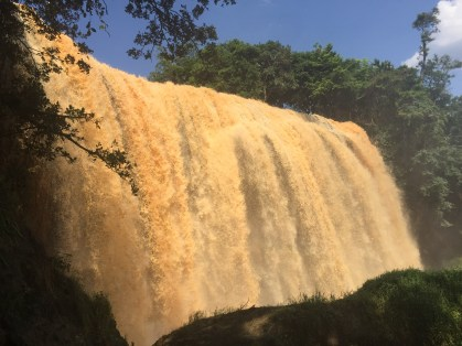 Elephant Waterfall in Da Lat, Vietnam