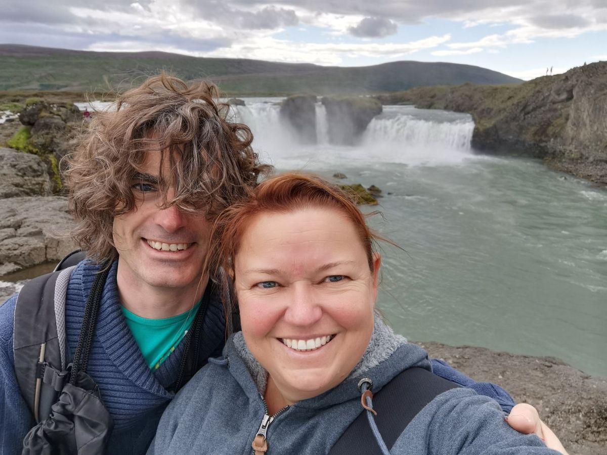 Wasserfälle im Norden Islands