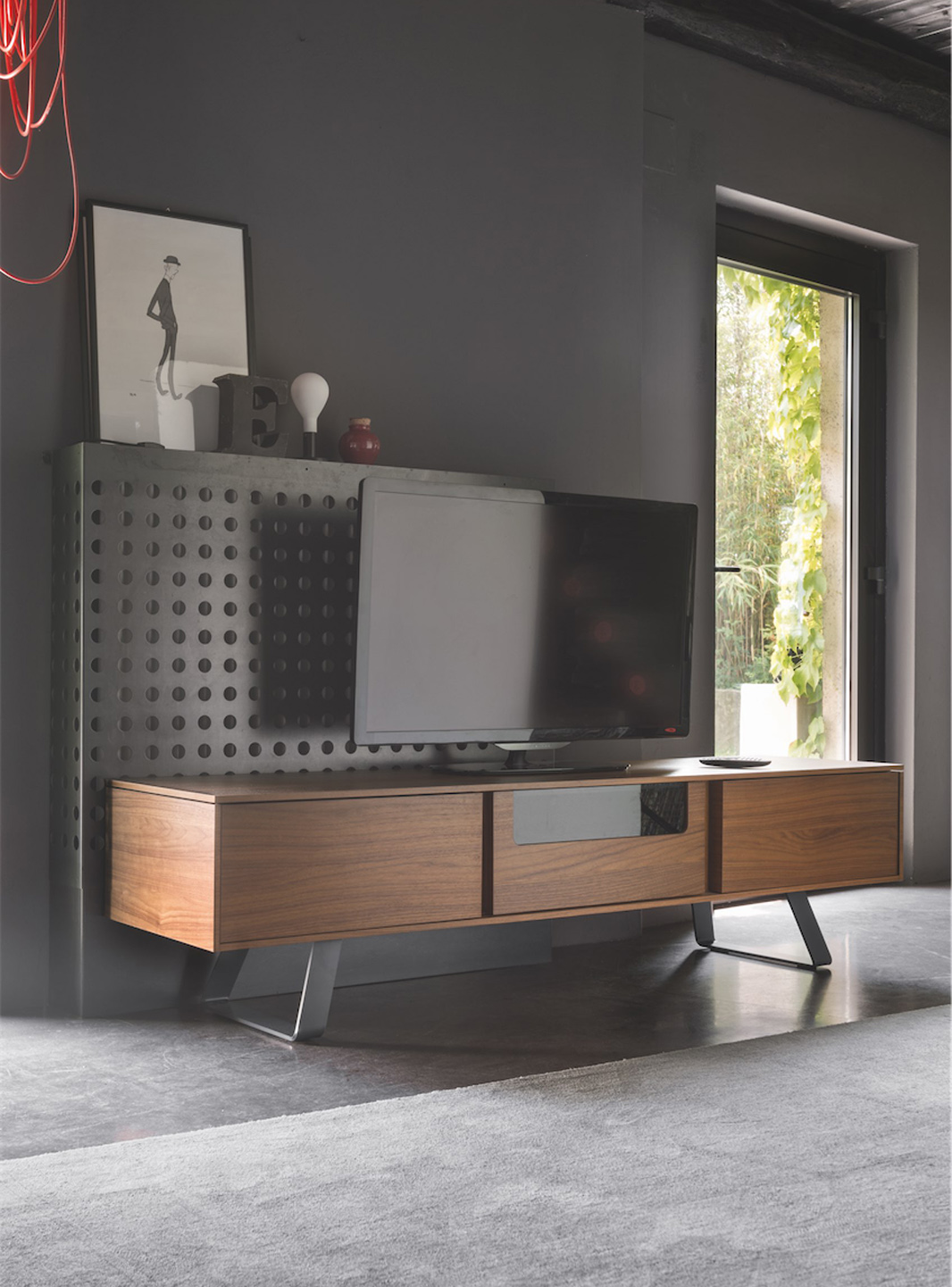 Secret  Meuble audiovideo Calligaris CS60536  Mariette Clermont