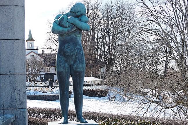 Fotografie Wim Rozenberg, Vigelandpark Oslo