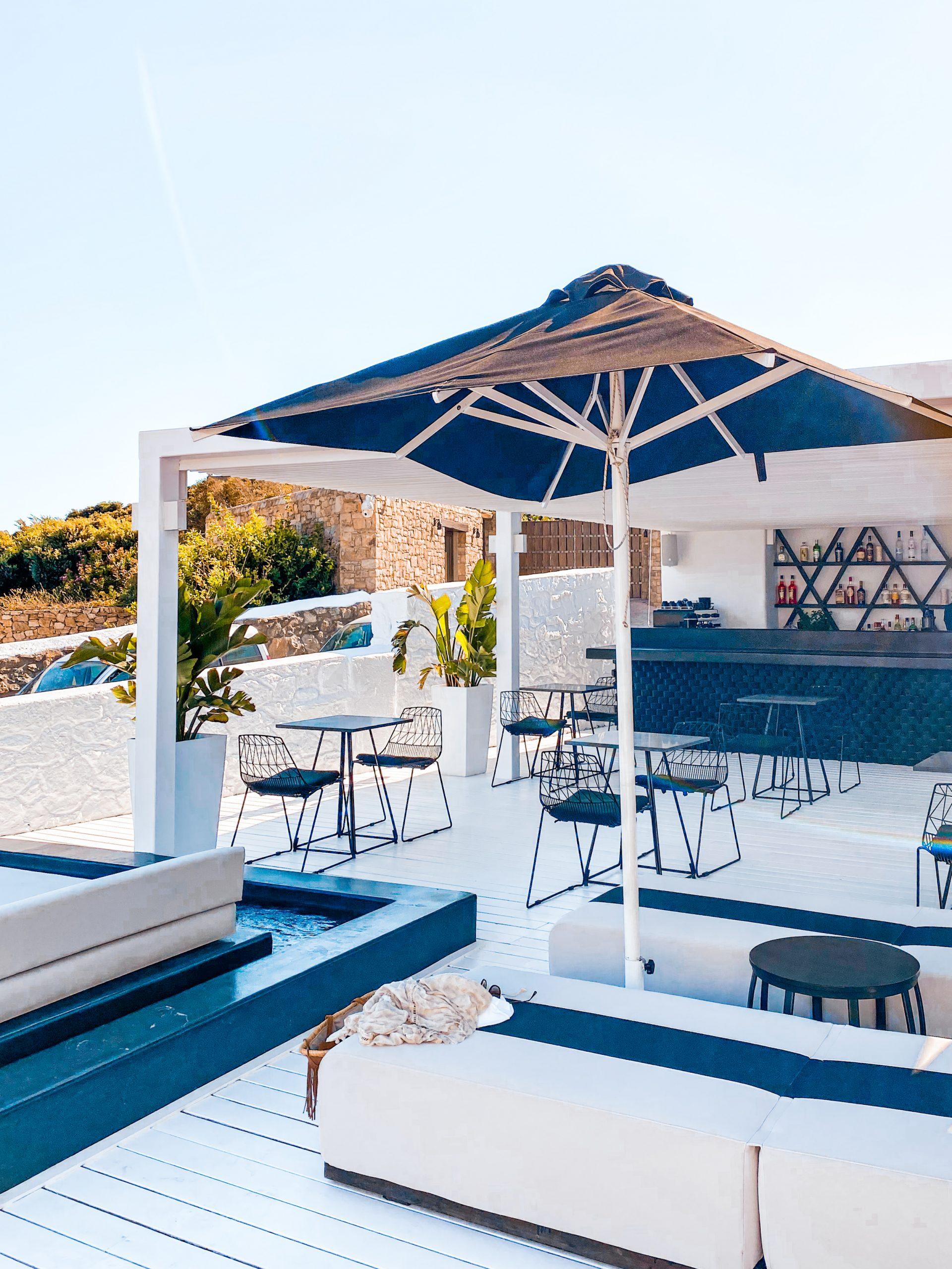 Pool bar at Nimbus Mykonos