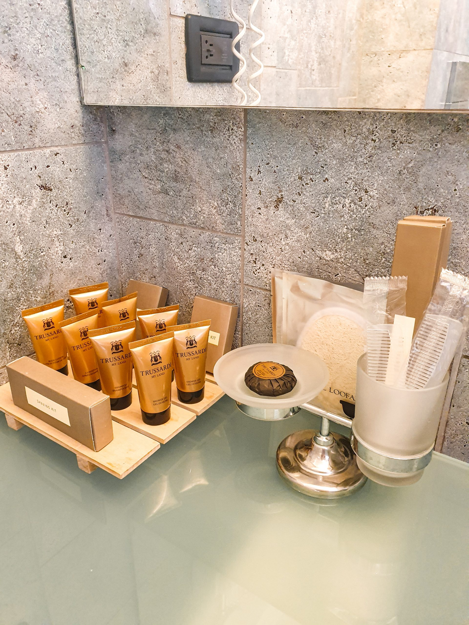 Alas Resort & Spa self care products