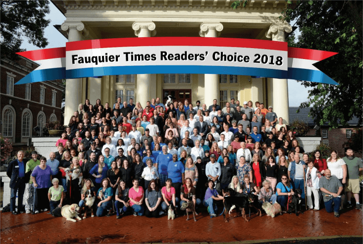 Fauquier Readers Choice 2018 Image - Our Office