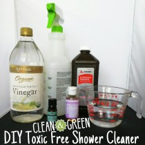 DIY Toxic Free Cleaner
