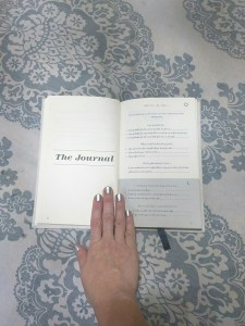 5 minute journal instructions