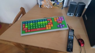 I was amazed at this awesome keyboard for the little little ones!