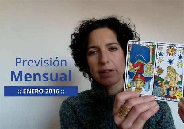 Previsión mensual con el Tarot. Enero 2016 en marifranstarot.com