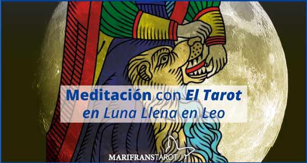 Meditación con la Luna Llena en marifranstarot.com