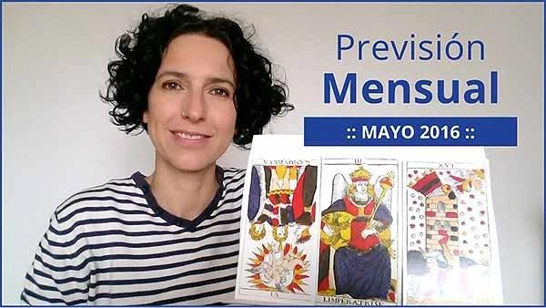 Previsión mensual con el Tarot. Mayo 2016 en marifranstarot.com