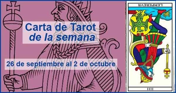 26 de septiembre al 2 de octubre 2016 Carta de Tarot semanal en marifranstarot.com
