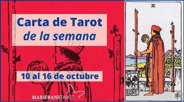 10 al 16 de octubre 2016 Carta de Tarot semanal en marifranstarot.com