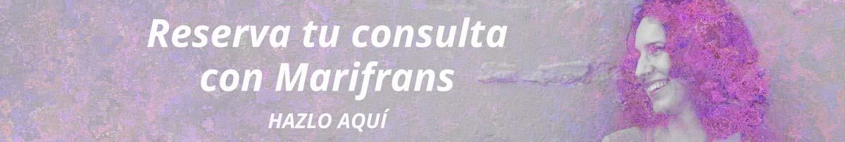banner consulta de tarot privada con marifrans en Marifrans