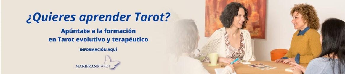 Aprende Tarot terapéutico Tarot evolutivo Formación Tarot en Barcelona