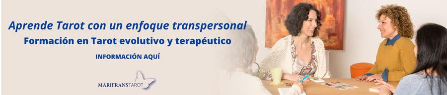 Formación en Tarot evolutivo Tarot terapéutico enfoque trasnpersonal y sistémico