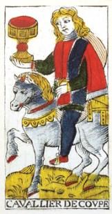 Caballero de Copas tarot de Madenié tarot de marsella tarot terapéutico tarot evolutivo