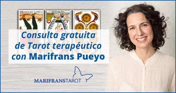 Consulta tarot terapéutico con Marifrans 13 de marzo de 2020