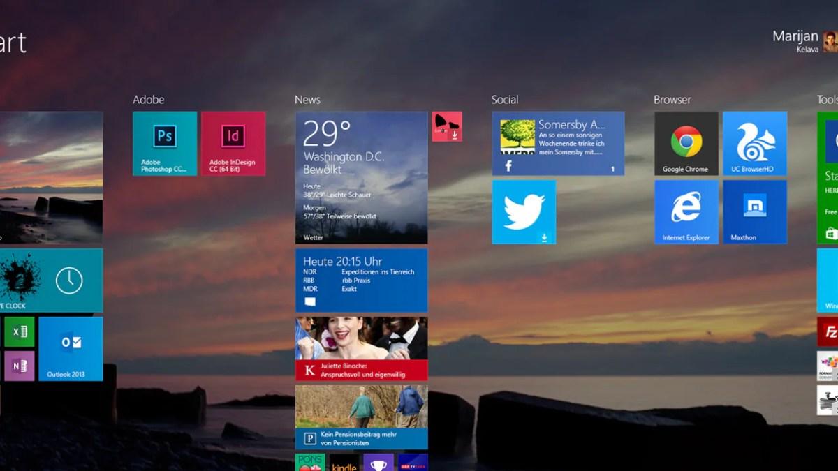 Windows 8.1 GDR1 ins Internet entfleucht.