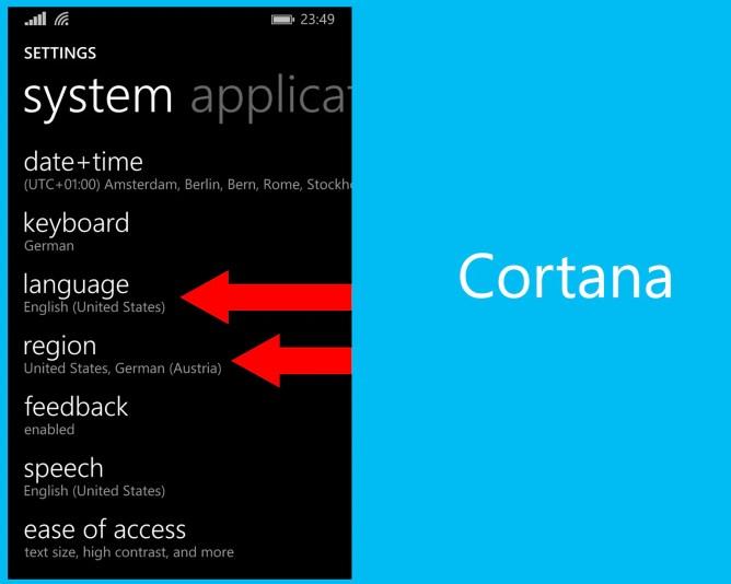Cortana-aktivieren