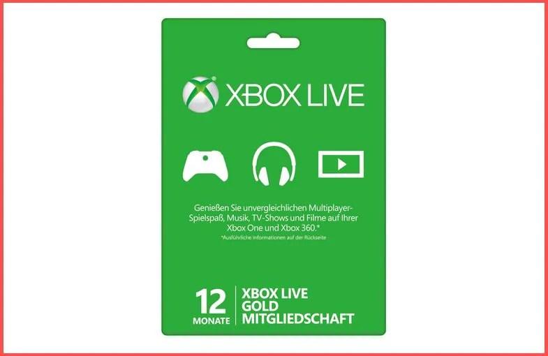 Schnäppchen: Xbox Live Gold gerade deutlich günstiger