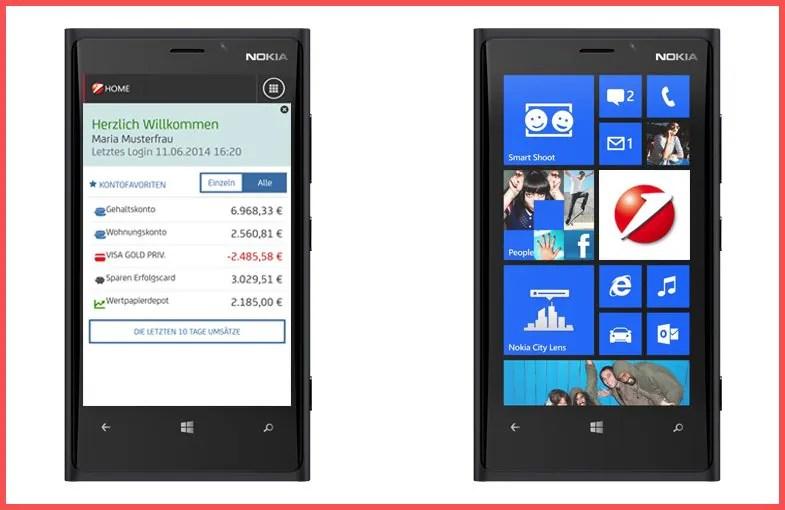 """Bank Austria veröffentlicht """"Mobile Banking"""" App für Windows Phone!"""