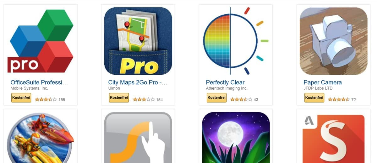 Android-Nutzert aufgepasst: Amazon verschenkt Apps!