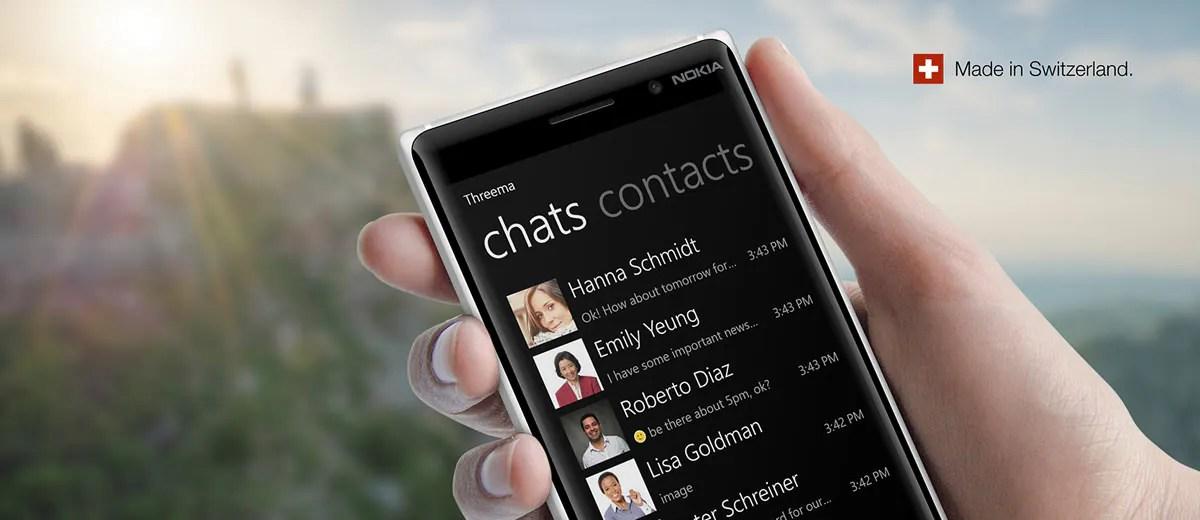 Endlich: Threema landet im Windows Phone Store