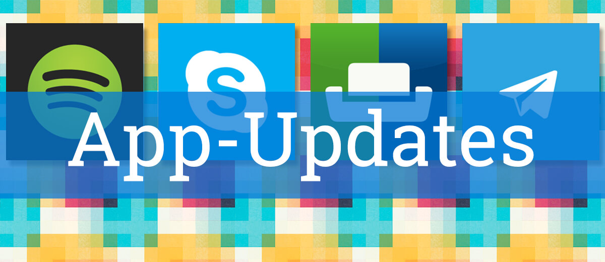 App-Updates: Skype, Spotify und Co.