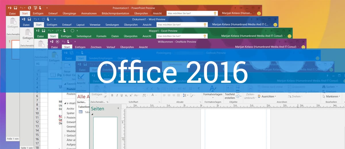 So installierst du die Preview von Office 2016