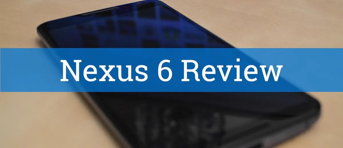 Eine Woche mit dem Nexus 6