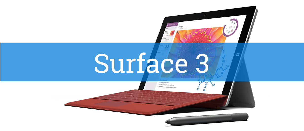Mein Surface 3 Hands-On Video