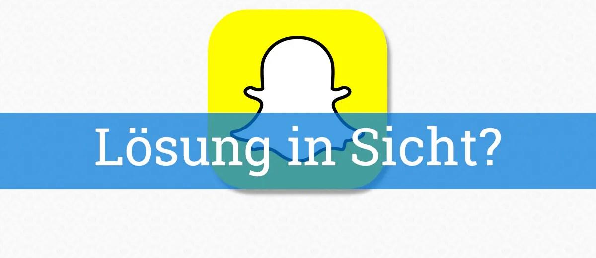 Snapchat ist resistent gegen Feedback
