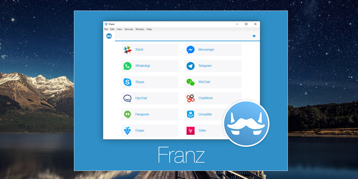 From Franz, with Love. Neuer All-in-One Messenger