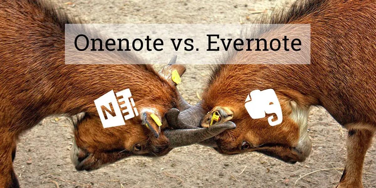 Fünf Gründe wieso OneNote besser als Evernote ist