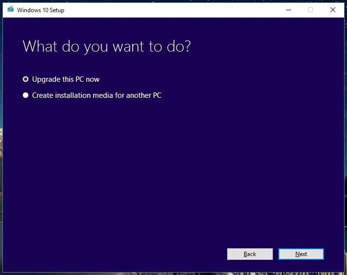 Windows 10 Setup Tool - 2
