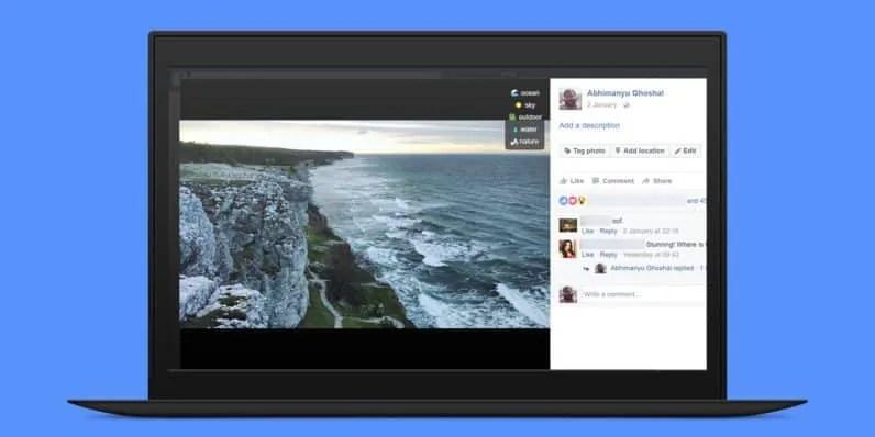 Chrome Extension zeigt Facebooks AI Fähigkeiten