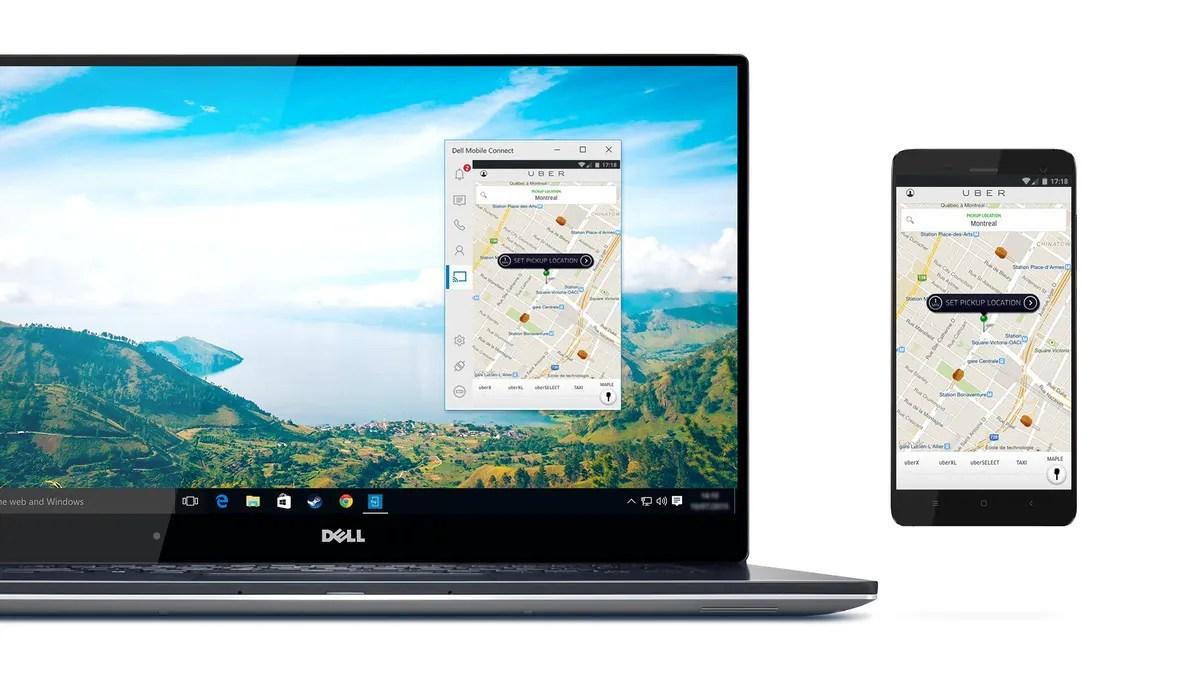 Dell Mobile Connect: Dein Android Smartphone auf deinem PC