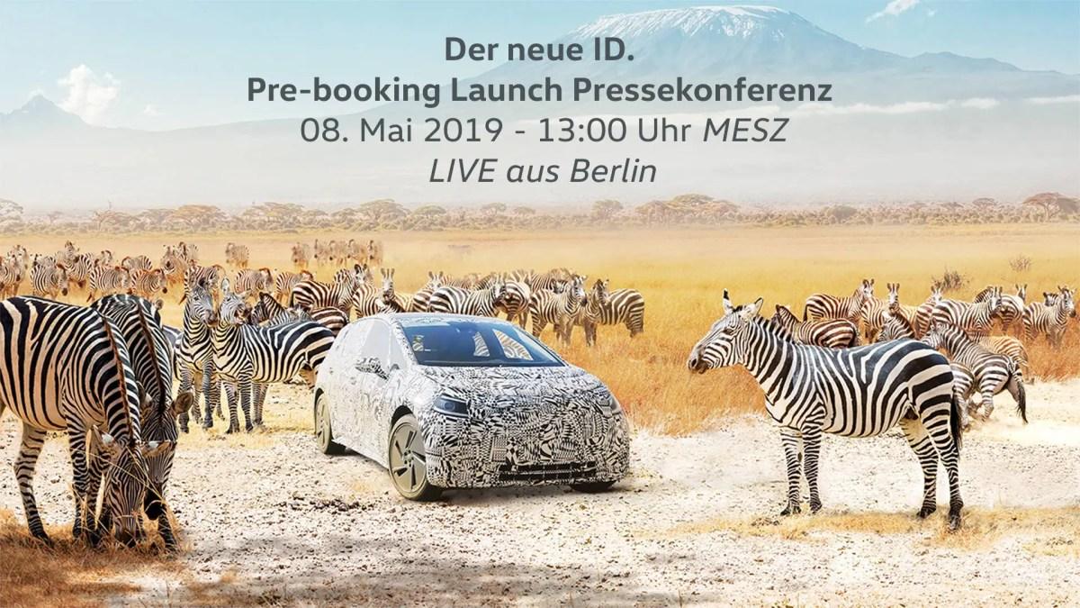 VW: Pre-booking Launch Pressekonferenz