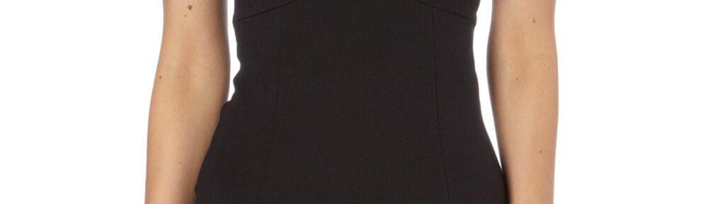 Header zwart jurkje