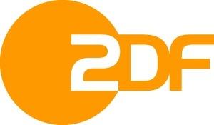 Logo van ZDF, de Z is een 2