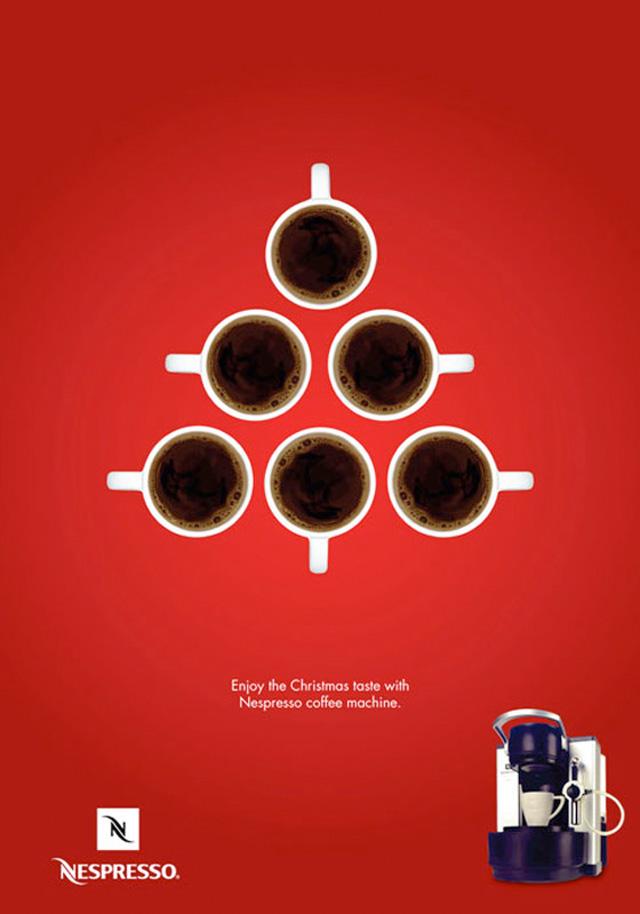 kerstboom koffie nespresso
