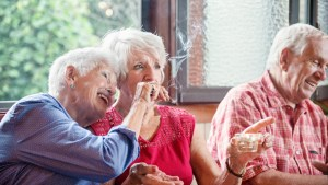 Older adults using cannabis to treat common health conditions