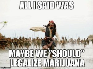 Cannabis just as Controversial as Jack Sparrow